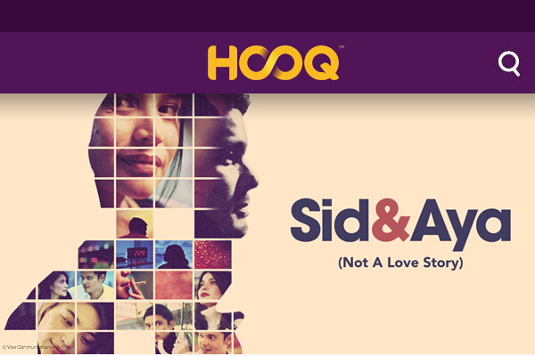 HOOQ Interface Samsung - main