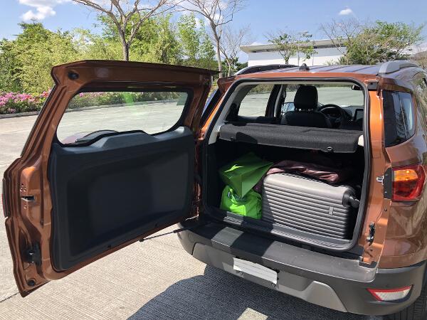 EcoSport luggage