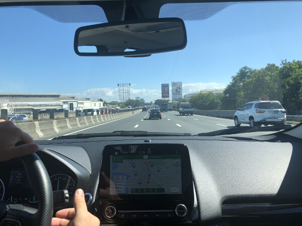 EcoSport navigation 3