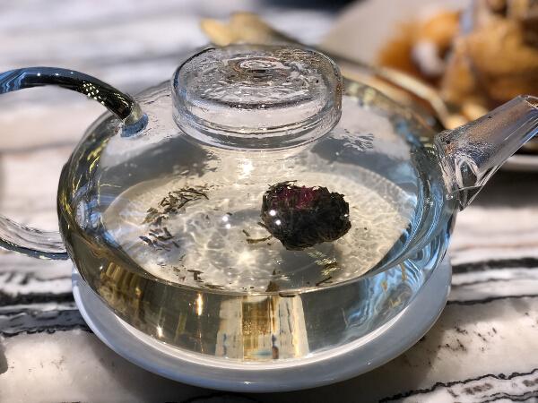 Hua Ting blooming tea