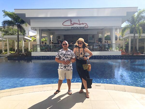 Savoy Boracay poolside Jessie Trixie 2