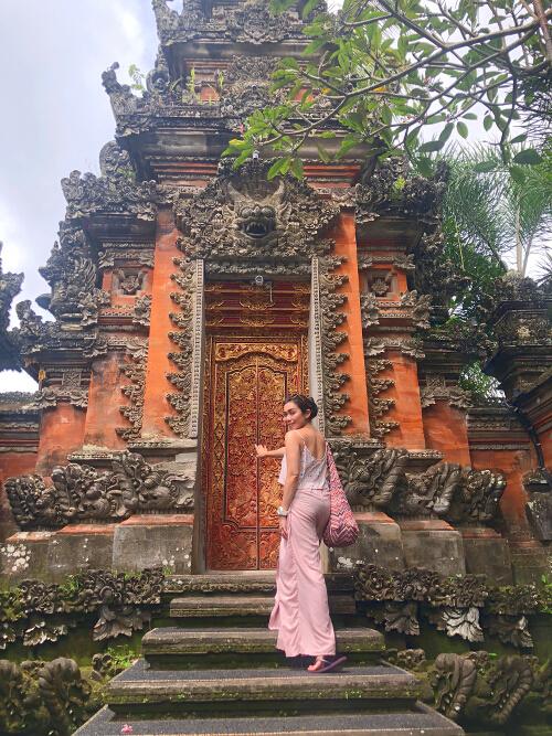 Trixie Bali temple