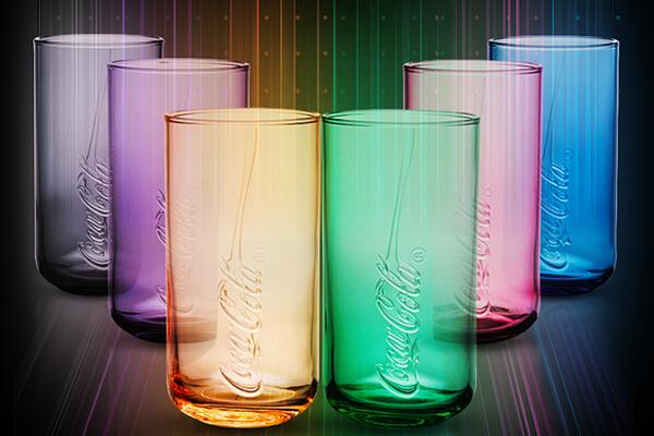 Coke Glass KV
