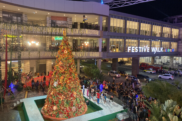 Iloilo Business Park Christmas 2019 Christmas tree 2
