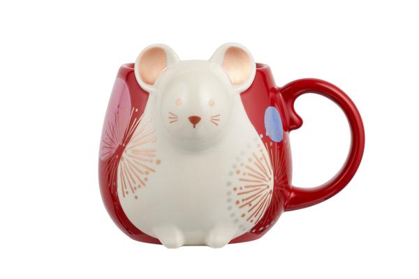 12oz Ceramic Zodiac Rat Mug
