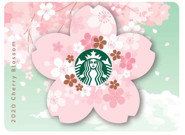 2020 Cherry Blossom Paper Card