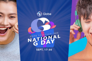 Globe National G Day Flashbox