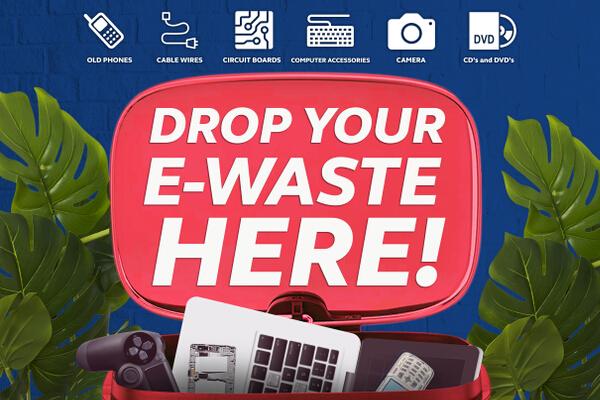 Ewaste Zero - Drop your Ewastes at 120 locations nationwide