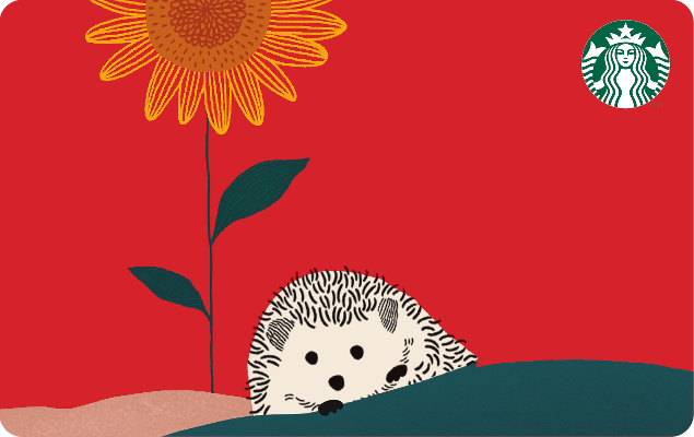 Happy Hedgehog Card