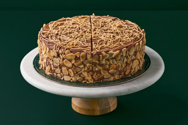 ZEBRA CAKE MADE WITH BELGIAN CHOCOLATE